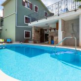 Relax holiday house with pool and spa zone in Marcana, near Pula, Istria, Croatia, Pula