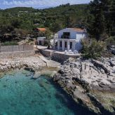 Luxury villa with pool on the island of Hvar, by the sea, Dalmatia, Croatia,
