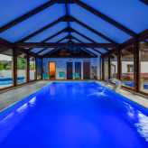 Luxury houses with indoor pool and sauna in Lika, near Plitvice Lakes, Croatia, Gospić